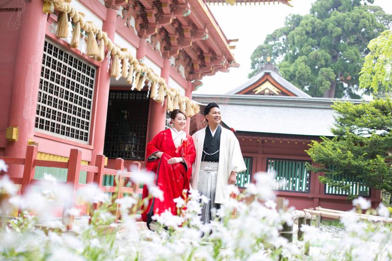 新緑の和装ロケーション撮影&塩竃神社